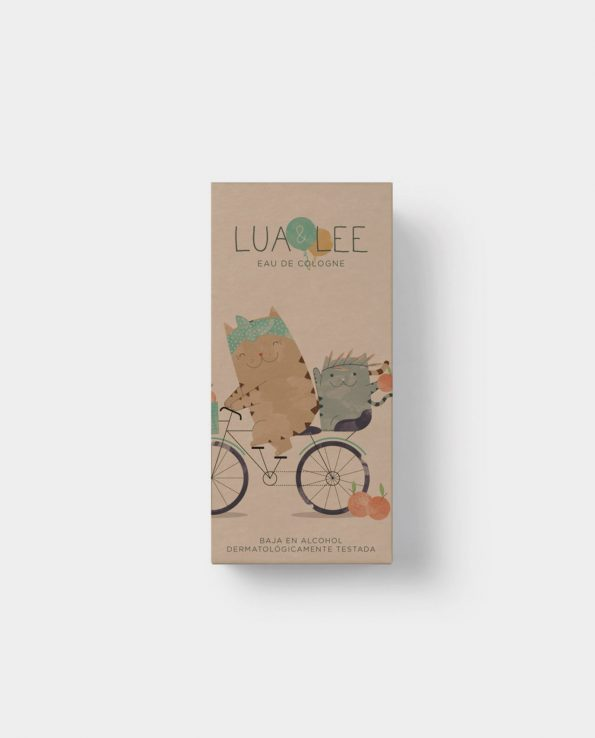 Colonia natural y ecológica para niños Lua&Lee 100ml Compostable