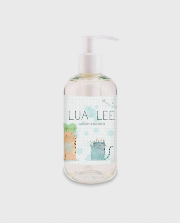 Jabón Líquido Natural y ecológico Lua&Lee 250ml