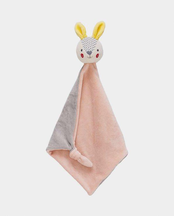 Mantita conejo rosa Petit Collage