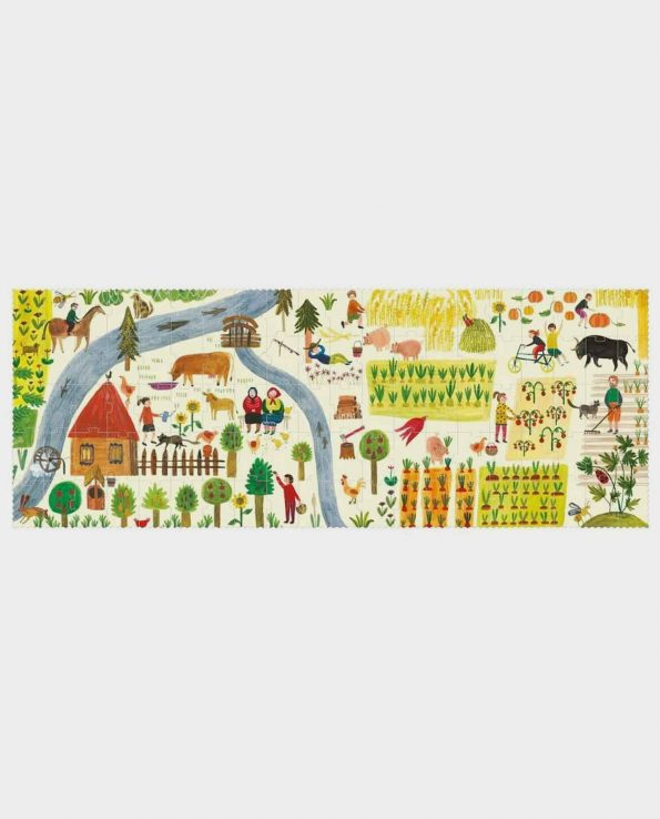 Puzzle para niños de la granja Enjoy the farm de Londji