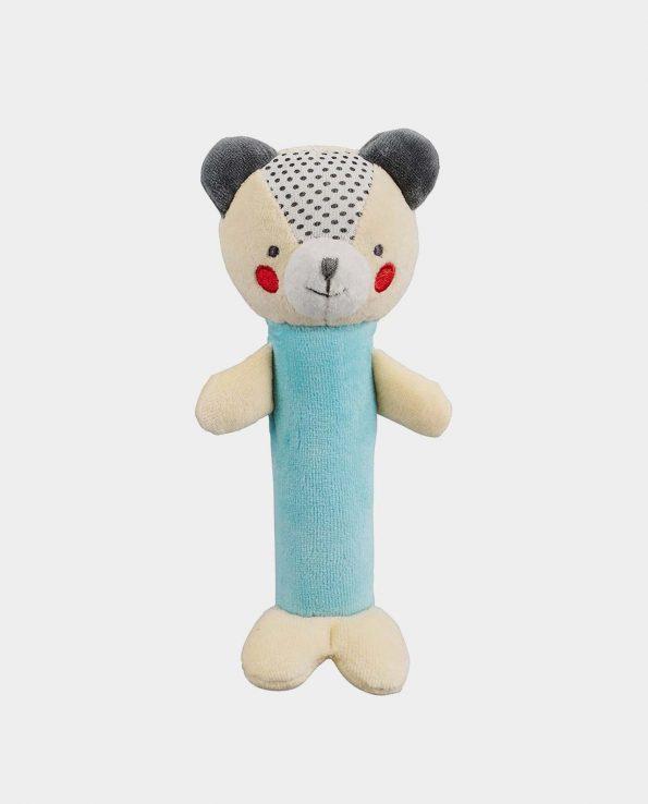 Sonajero de algodón oso azul de Petit Collage
