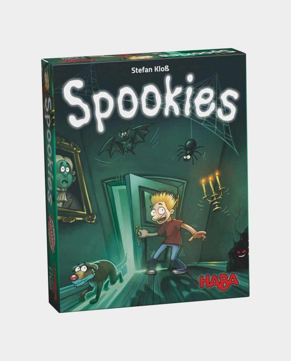 Juego de mesa de terror y miedo para niños Spookies