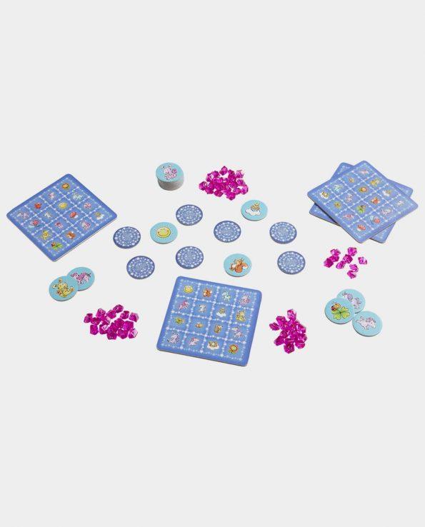 Juego de mesa para niños Unicornio destello: Bingo chispeante