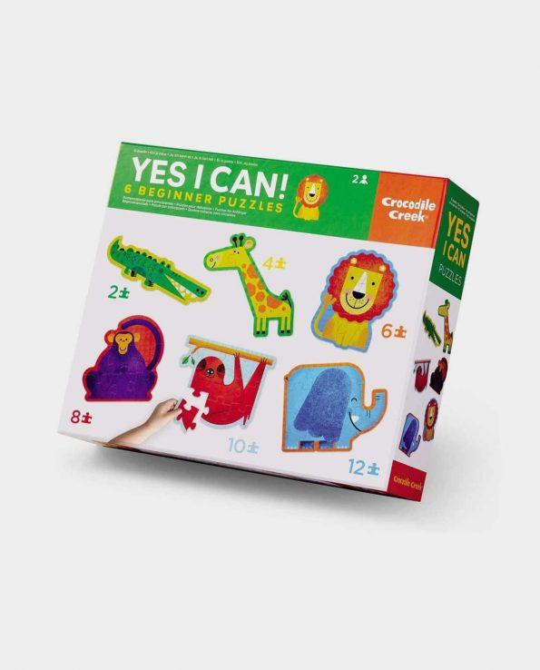 Puzzles para niño animales de selva Yes I Can selva Crocodile Creek
