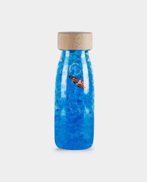 Botella sensorial para niño Sound Bottle Fish