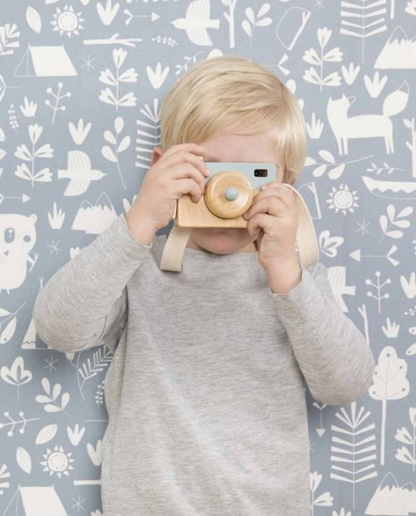 Cámara para niños de juguete de madera de Little Dutch