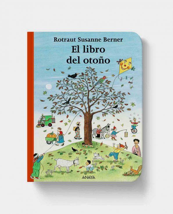 Libro infantil de las estaciones del año El libro del otoño de Anaya