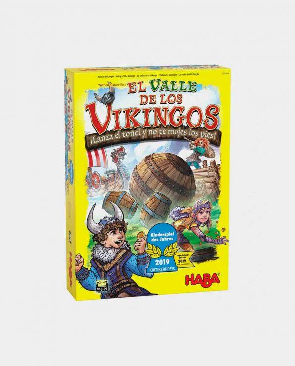 Juego de mesa para niños de Vikingos El valle de los vikingos de Haba