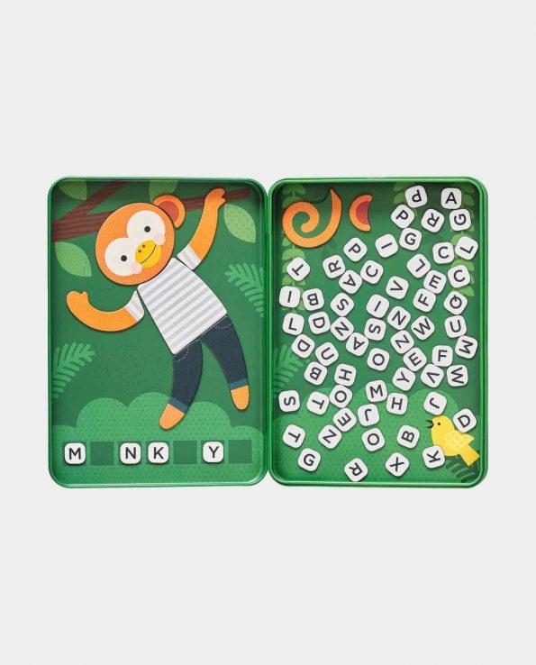 Juego del ahorcado magnético para niños