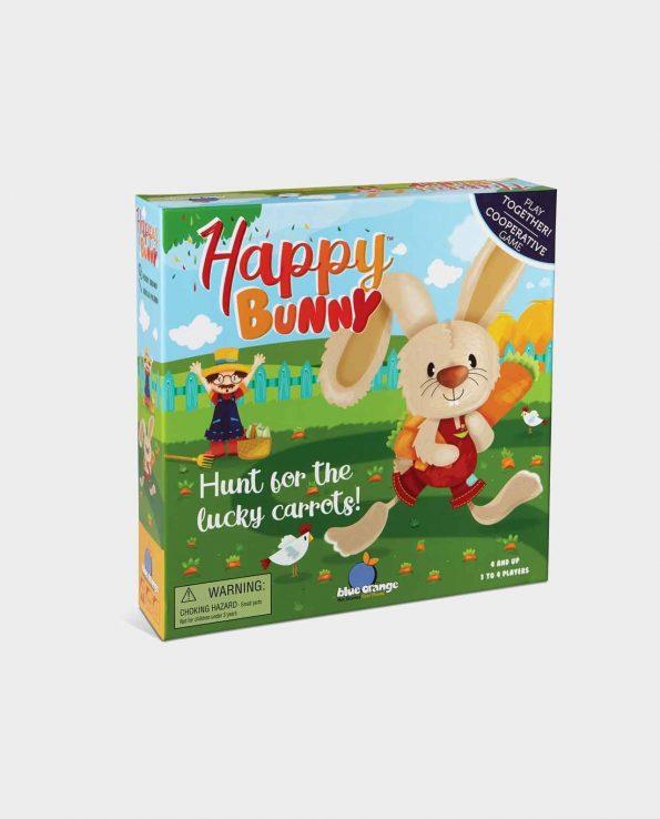 Juego de mesa para niños Happy Bunny de conejos y zanahorias