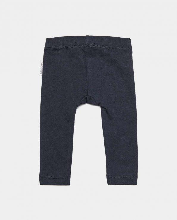 Legging cómodo de algodón orgánico para bebé y niño moderno color básico de la marca Noppies