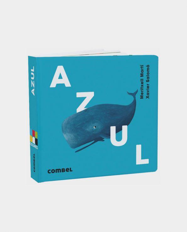 Libro infantil Azul de Editorial Combel