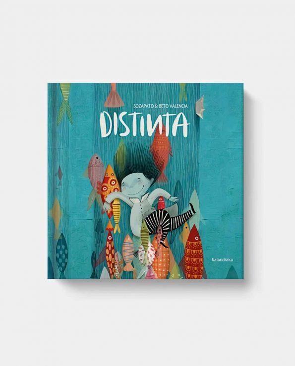 Libro infantil para niños Distinta de Kalandraka