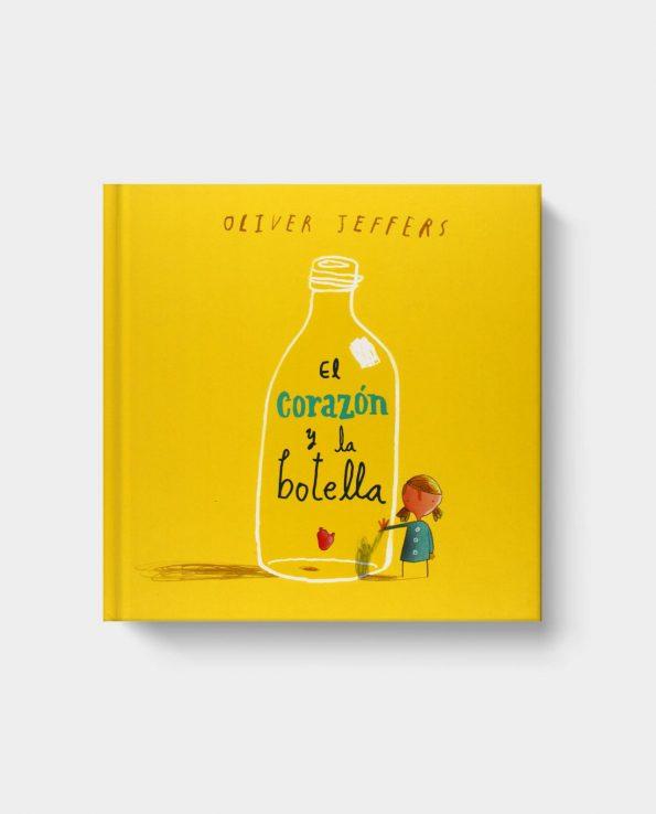 Libro infantil El corazón y la botella