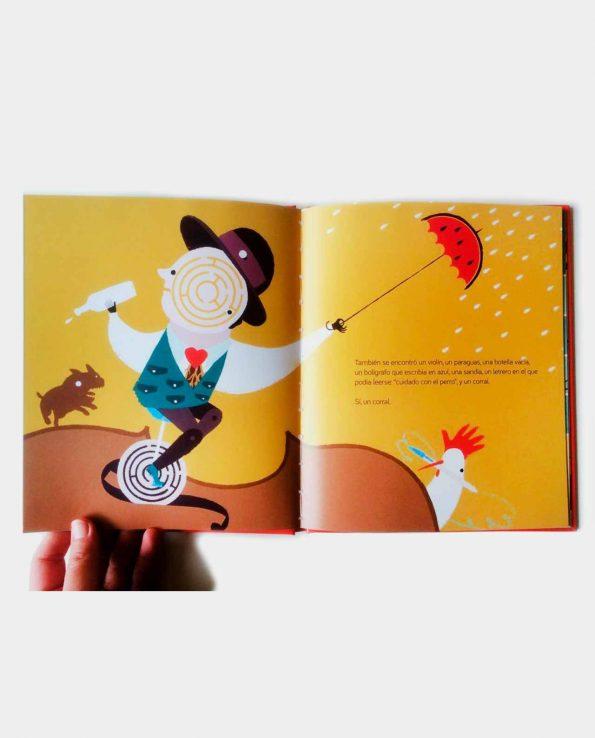 Fantástico Papá Libro infantil Canicas Books