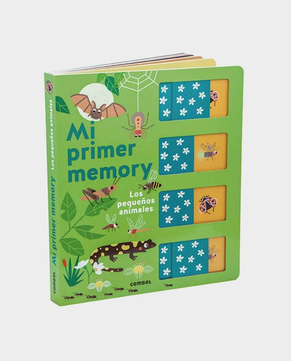 Libro infantil Mi Primer Memory Pequeños animales de Combel