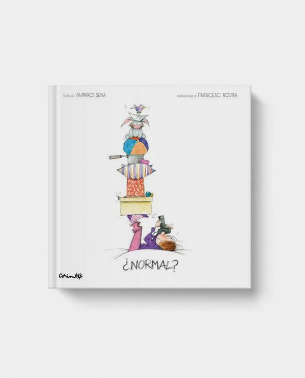Libro infantil ¿Normal? de Corimbo