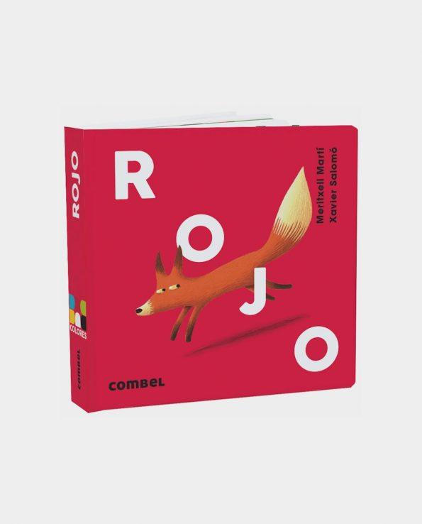 Libro infantil Rojo de Editorial Combel