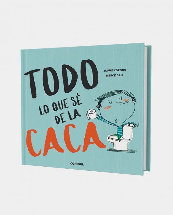 Libro infantil ilustrado Todo lo que se sobre la caca