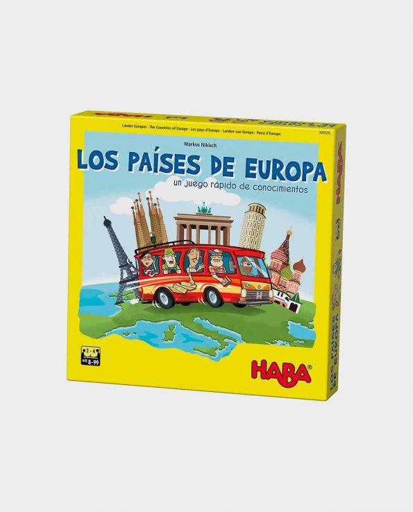 Juego de mesa para niños Los Países de Europa de Haba