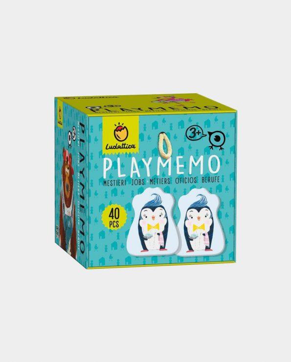 Juego de memoria para niños PlayMemo Oficios de Ludattica