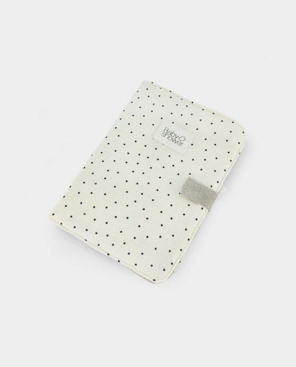 Portadocumentos Polka Dot Baby Shower para guardar los documentos y fotos de tu bebe