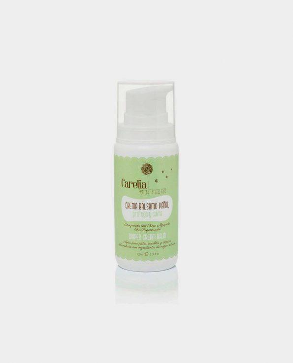 Crema bálsamo de pañal para niños natural ecológico sin tóxicos de carelia 100ml