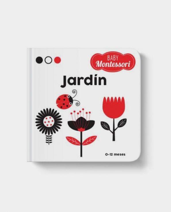 Libro infantil Baby Montessori: Jardin