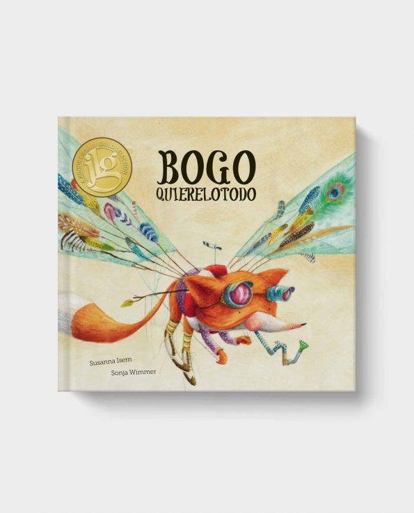 Libro infantil Bogo Quierelotodo