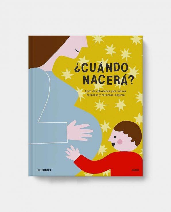 Libro infantil ¿Cuando nacera? para preparar la llegada de un hermanito