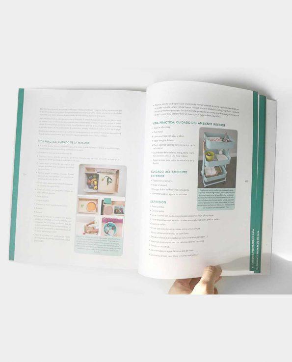 Libro infantil Educar en la felicidad: Montessori en el hogar, de la teoría a la práctica de Marta Prada de Pequefelicidad