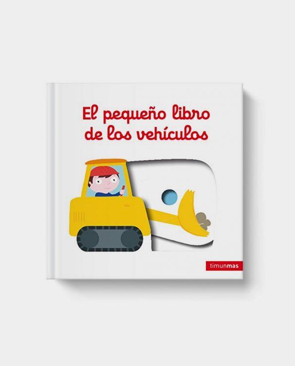 Libro infantil El pequeño libro de los vehículos