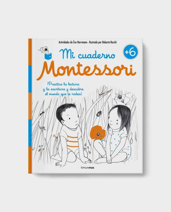 Libro infantil Mi Cuaderno Montessori +6
