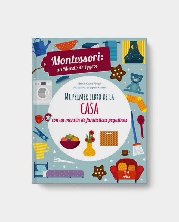Libro infantil Montessori Mi Primer Libro de la Casa