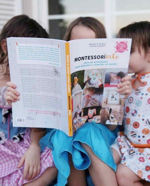 Libro de actividades para conectar en familia Montessorizate de Bei de tigriteando