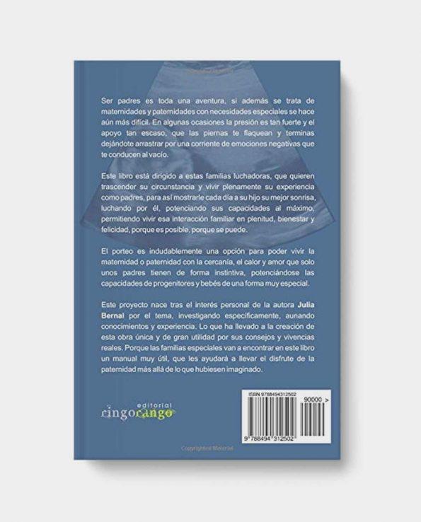 Libro porteo en situaciones especiales. Aprende a portear en situaciones complicadas