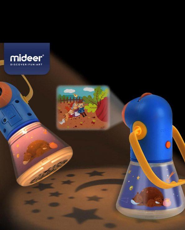 Proyector para niños con 8 cuentos Proyector Kids Storybook Torch Medium