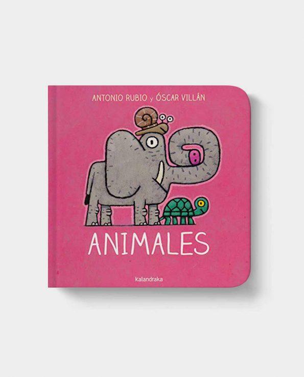 Libro infantil Animales de Kalandraka