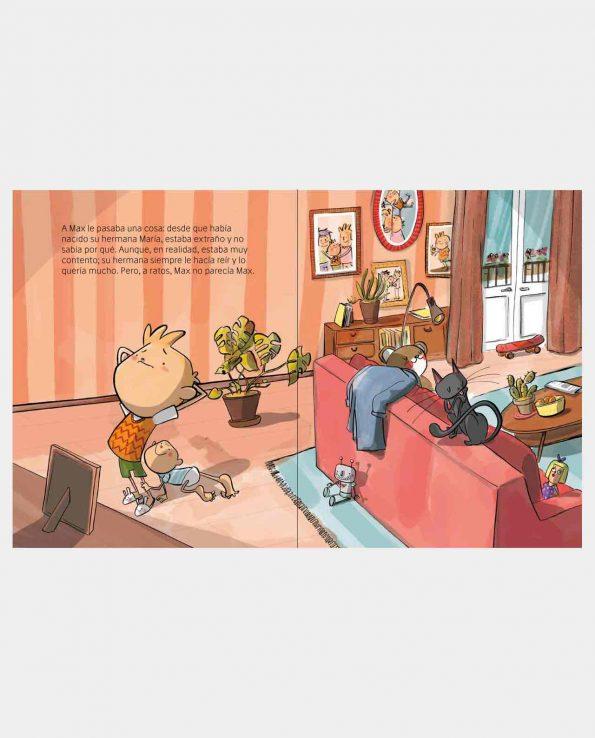 Libro infantil Bienvenido Señor Malestar para gestioar la rabia