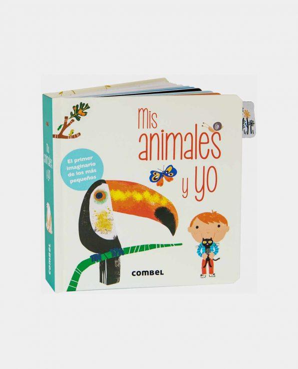 Libro infantil Mis animales y yo de Combel