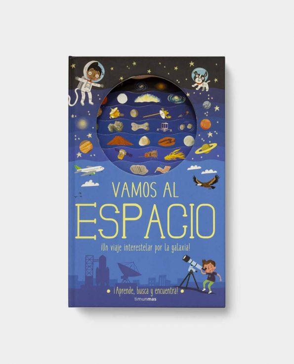 Libro infantil vamos al espacio de timunmas para descubrir el espacio