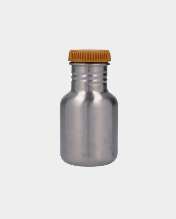 Botella Acero con Funda Arcoiris Mostaza 350 ml