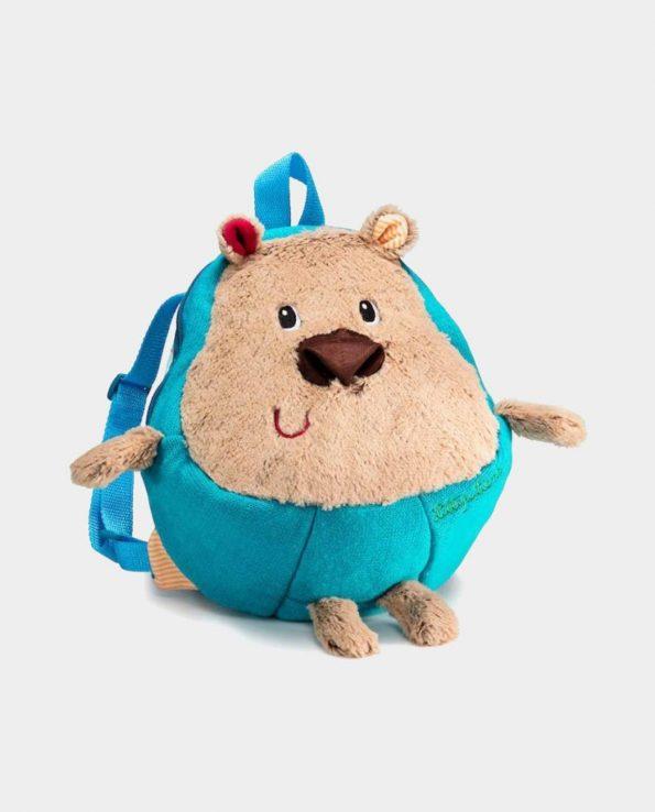 Mochila infantil cesar con forma de oso