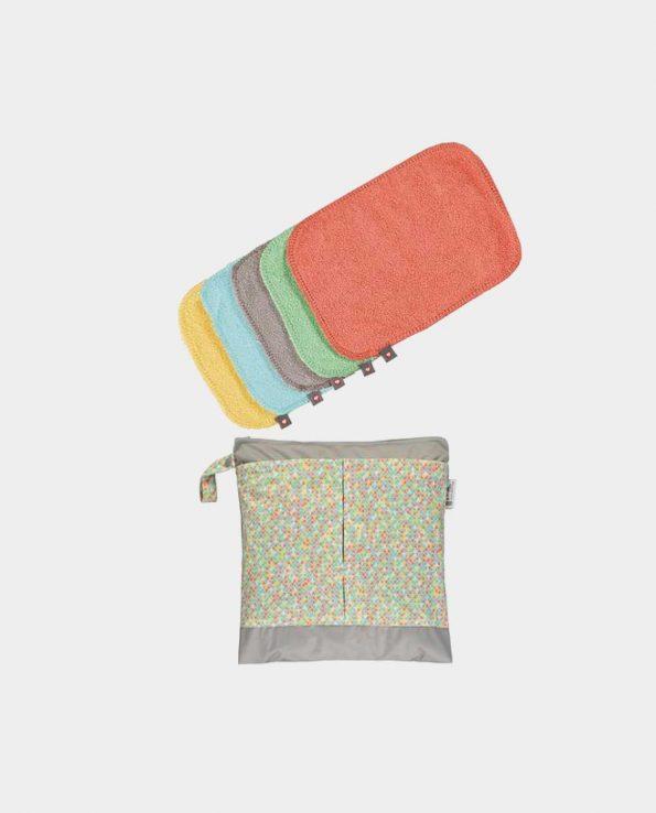 Pack de Toallitas Lavables Bambú Pastel