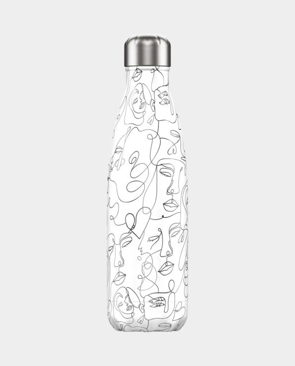 Botella Acero Inoxidable Chilly's Faces Line 500ml