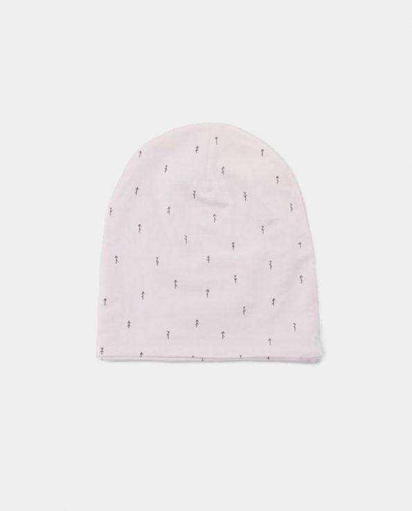 Gorro de invierno para niño Woods Rosa Baby Clic de algodón 100% orgánico