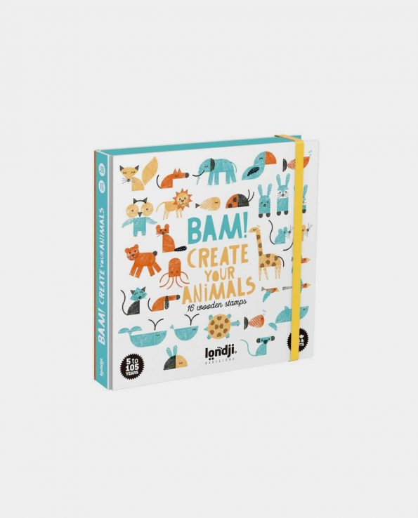 Bam! Crea tus Animales con Sellos Londji