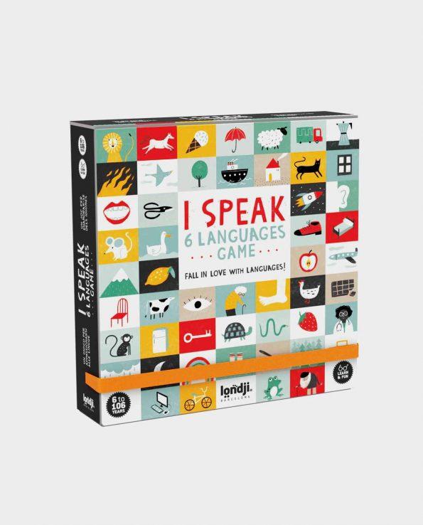 I Speak 6 lenguages game Londji