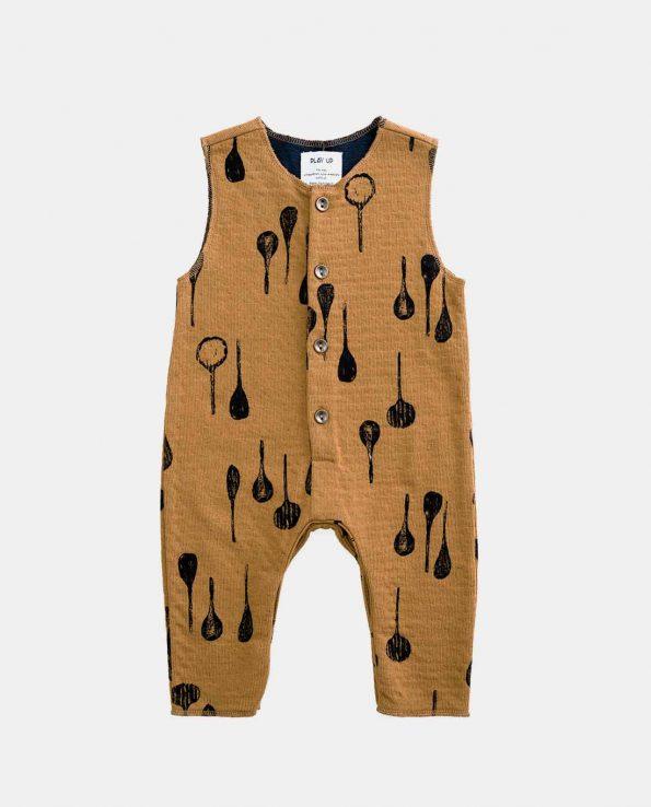 Mono Jersey para niños Cucharas Play Up de algodón orgánico 100%