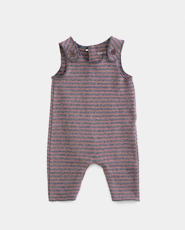 Mono Jersey para niños Rayas Purplewood Play Up de algodón orgánico 100%